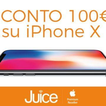 JUICE iphone X SCONTO