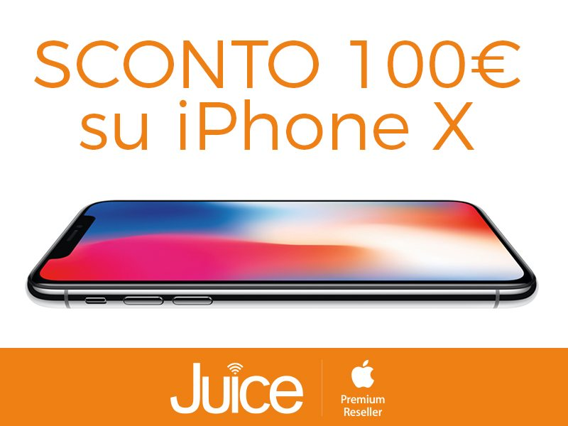 JUICE iphone X SCONTO