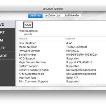 JetDrive Toolbox