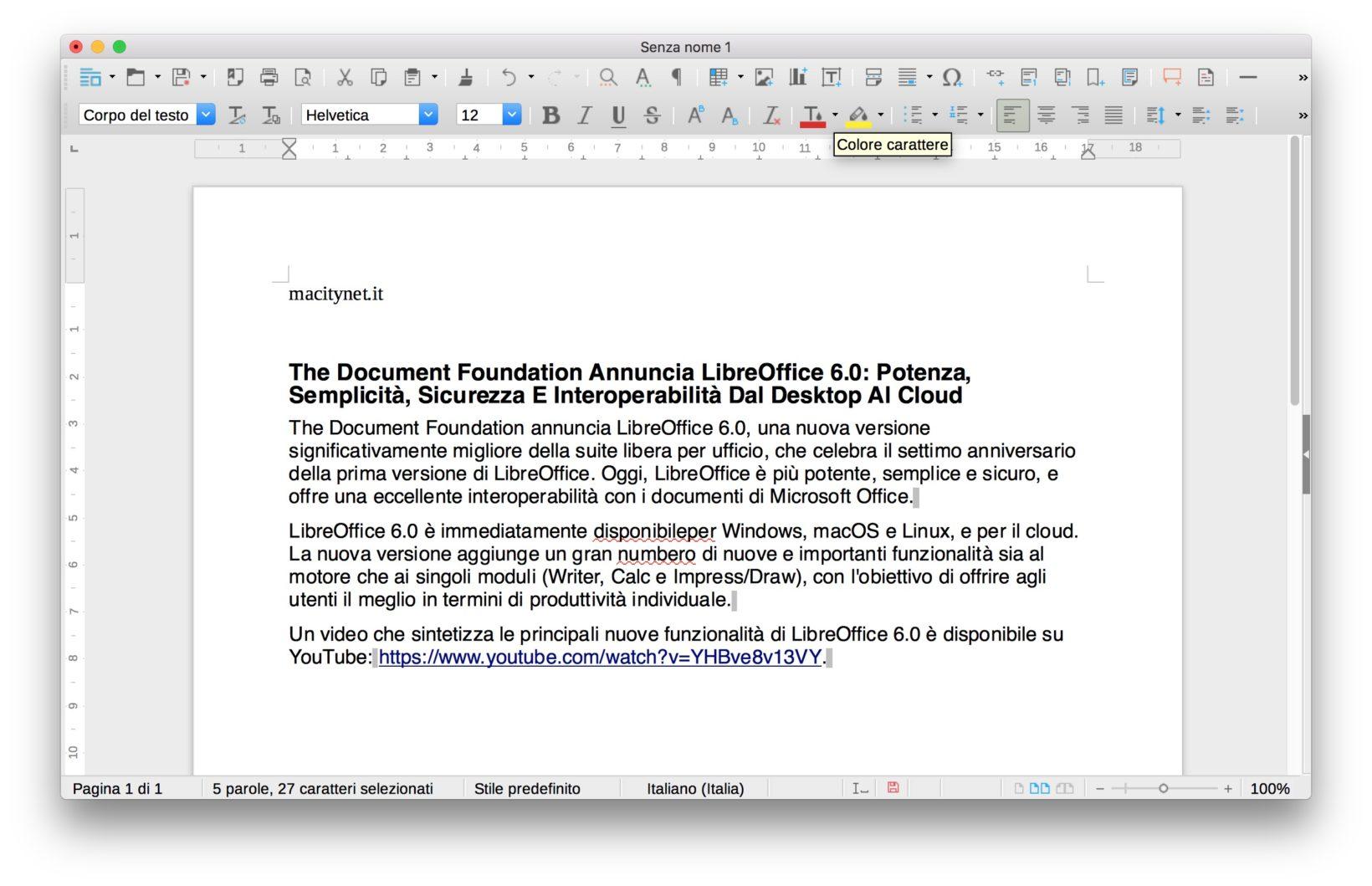 LibreOffice 6 8
