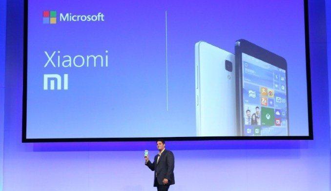 Xiaomi Microsoft