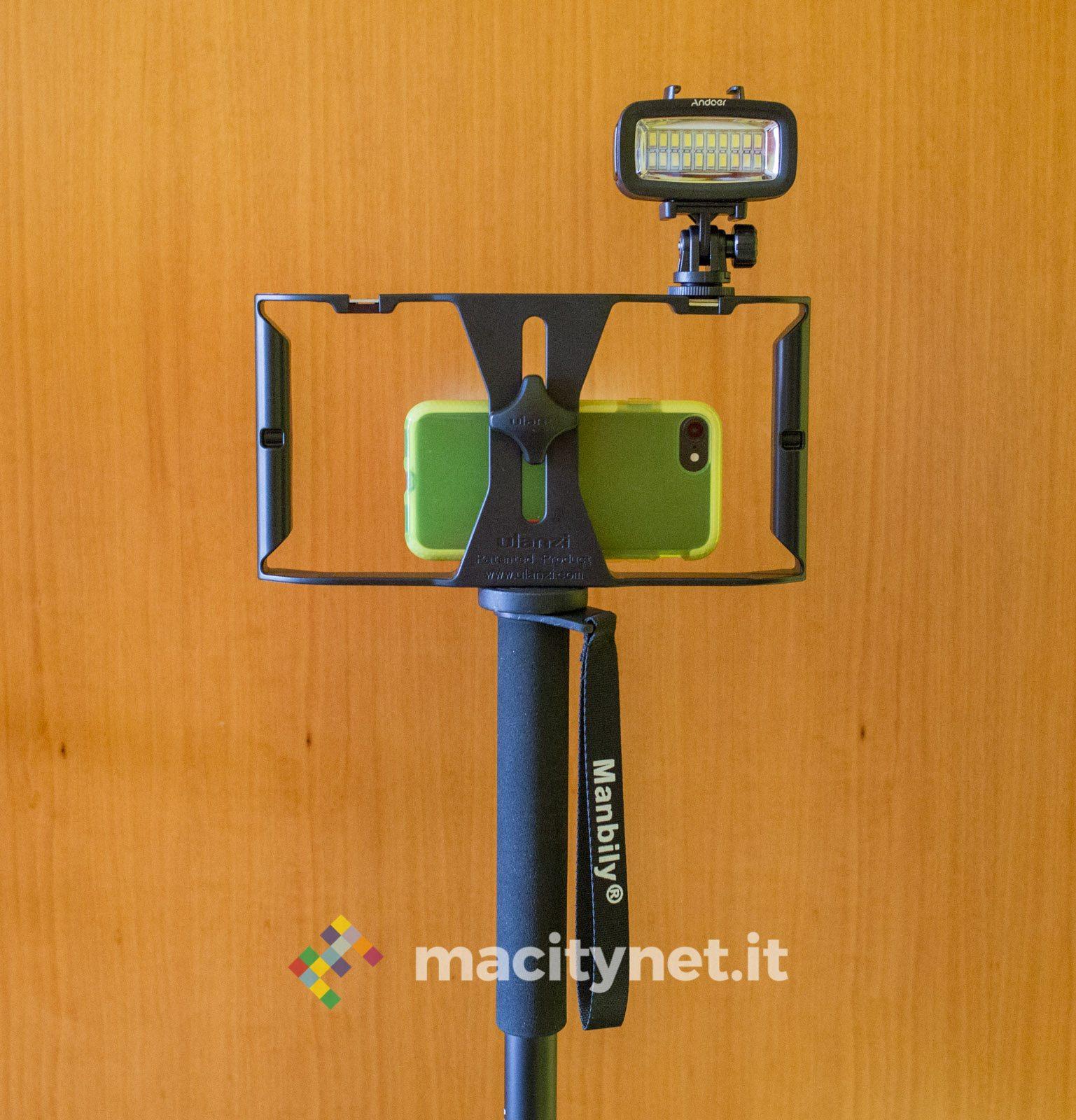 accessori videomaker Andoer