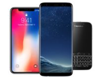 android iphone x blackberry 800