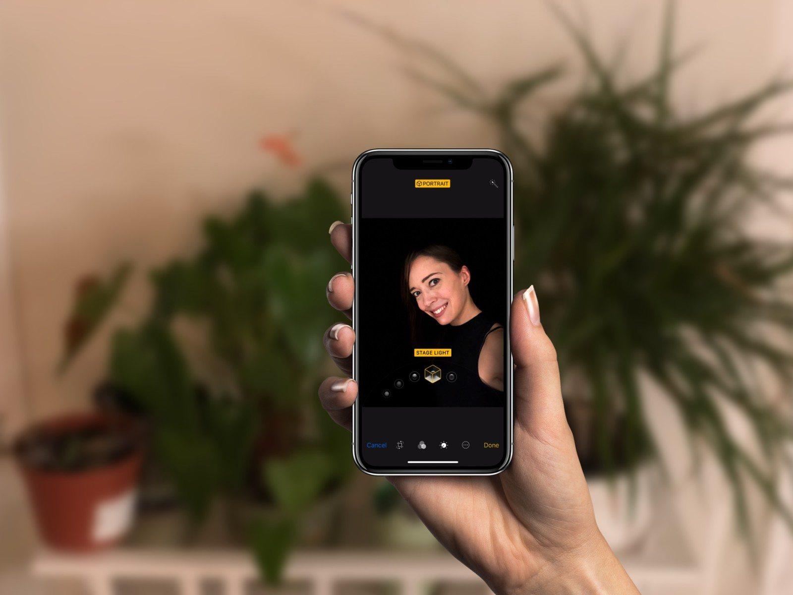 Apple insegna ad usare ritratto illuminazione e live photo di