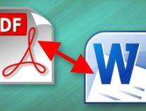 Convertire da Word a PDF