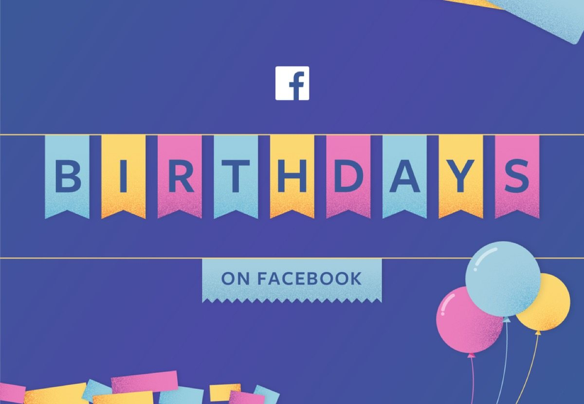 facebook compleanno