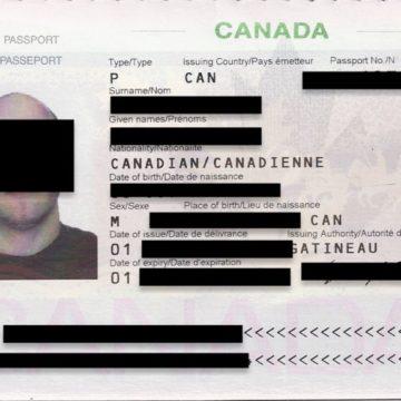 Passaporto di un cliente Fedex