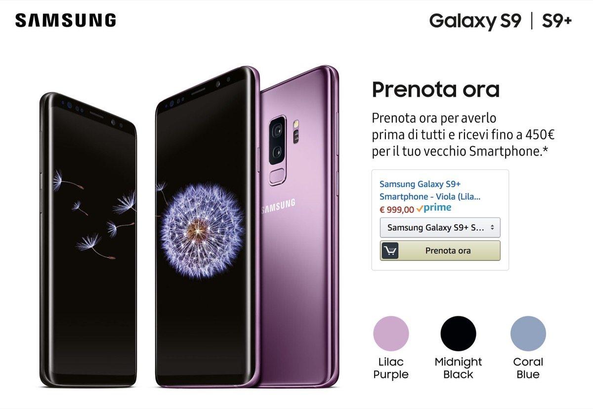 Galaxy S9 Amazon