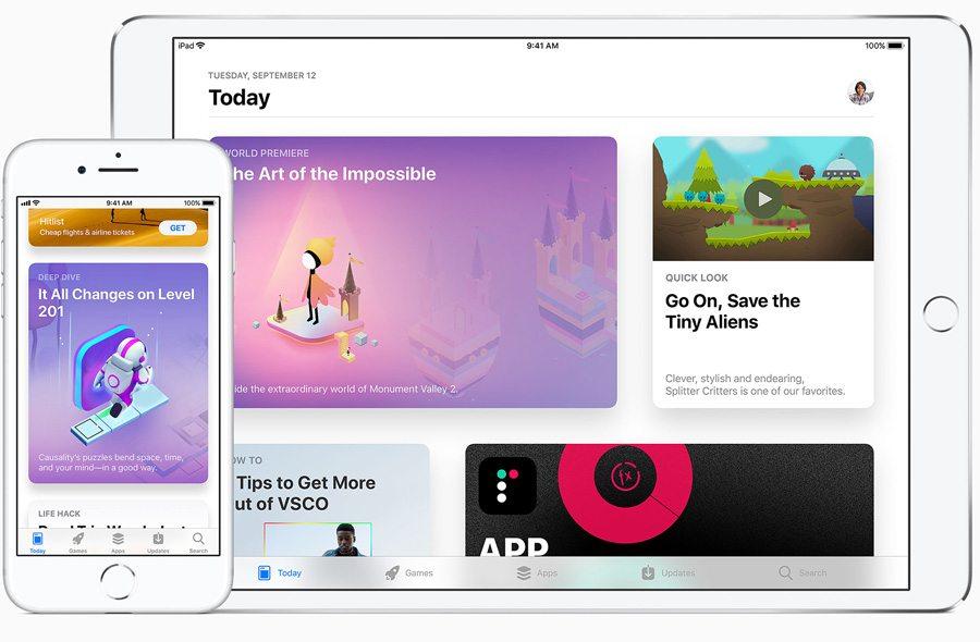 App ottimizzate per i vari schermi