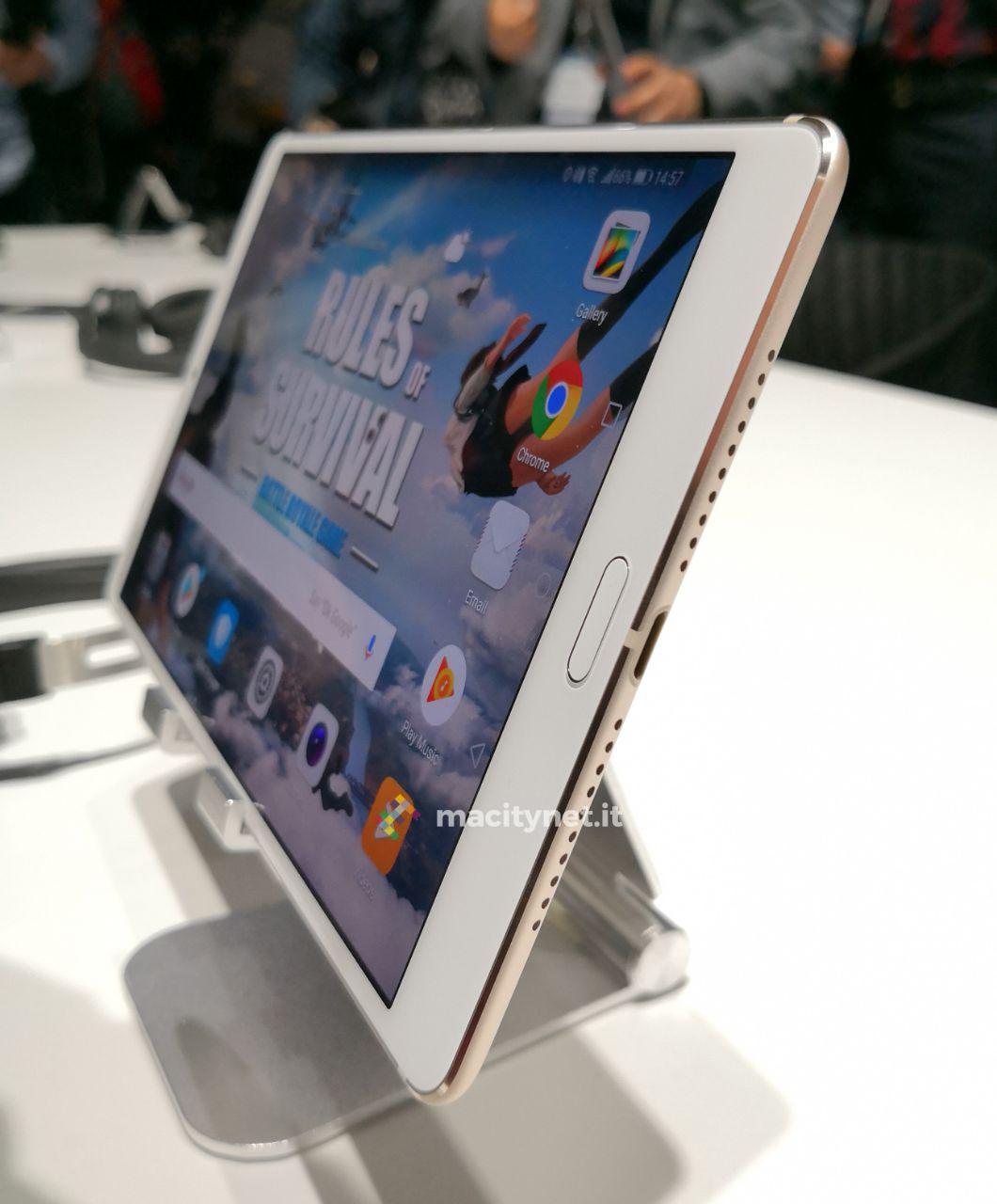 Schemi Elettrici Huawei : Al mwc 2018 huawei lancia mediapad m5 primo tablet al mondo con