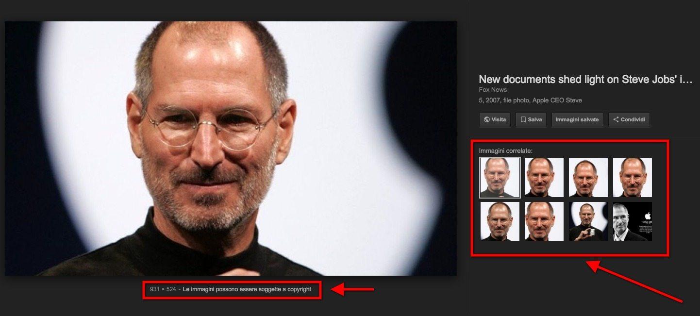 nuovi strumenti google immagini