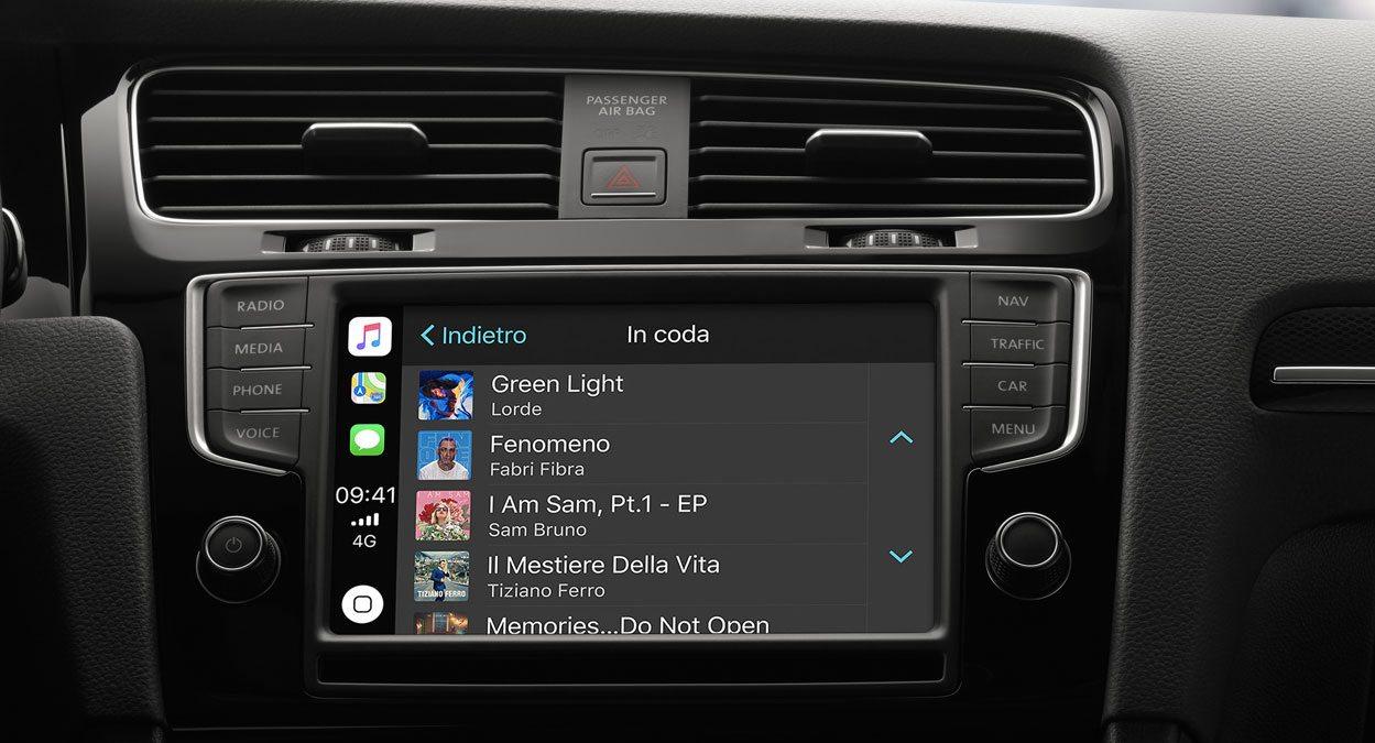 Apple Music con CarPlay