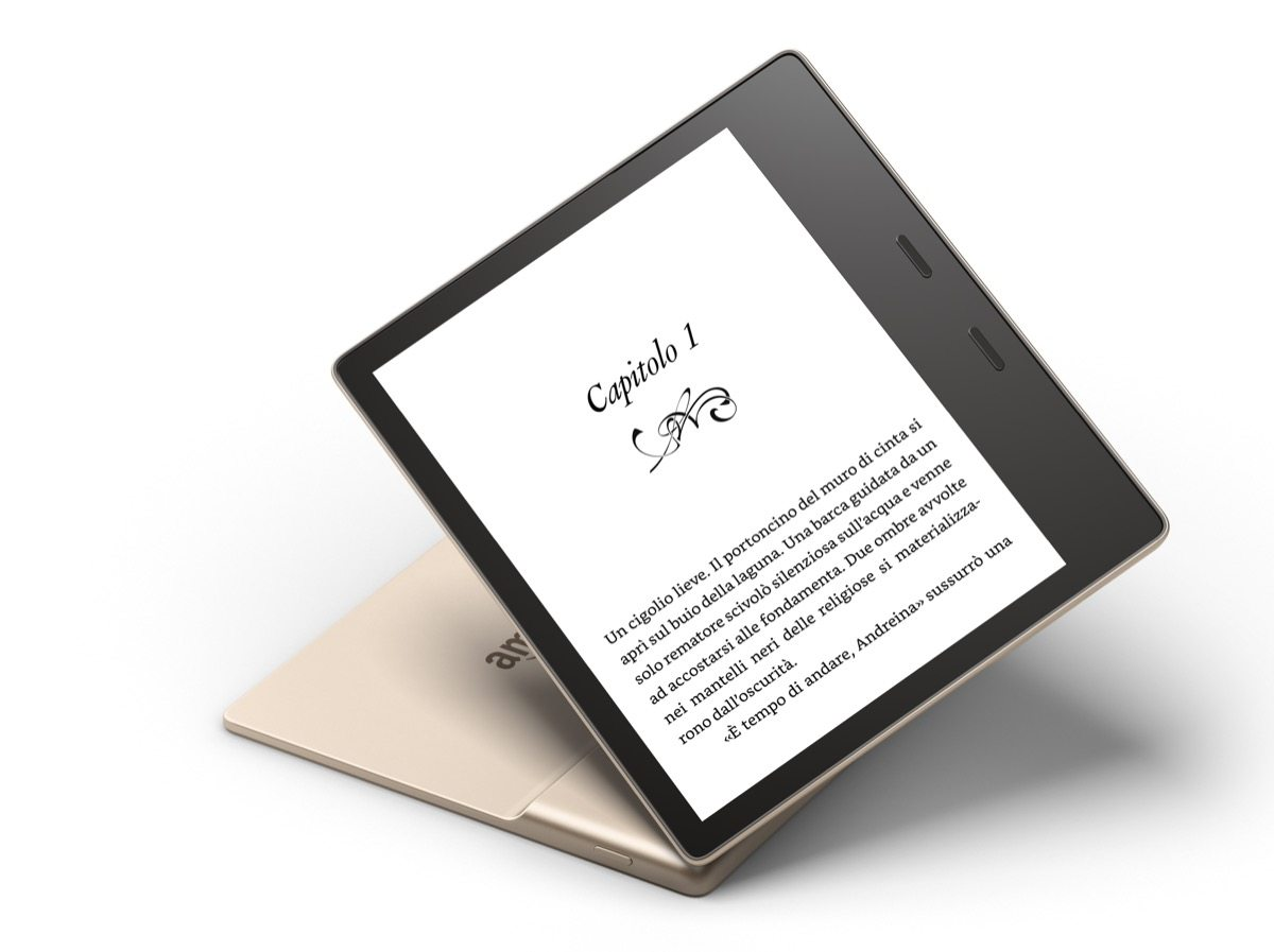 Kindle Oasis 2017 Gold