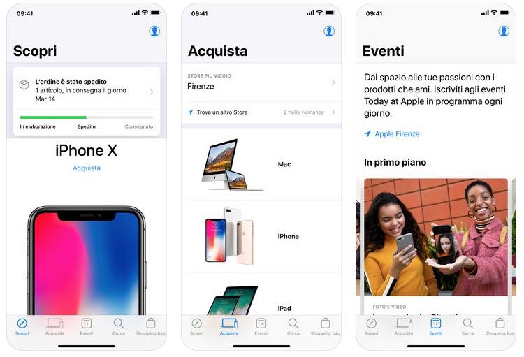 Apple Store 5.0 - foto schermate Apple Store per iOS