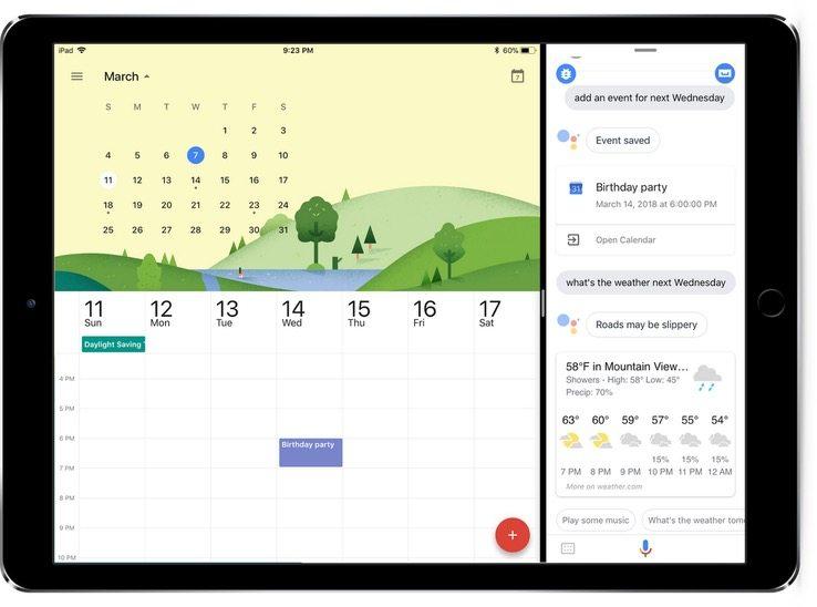 Google Assistant per iPad