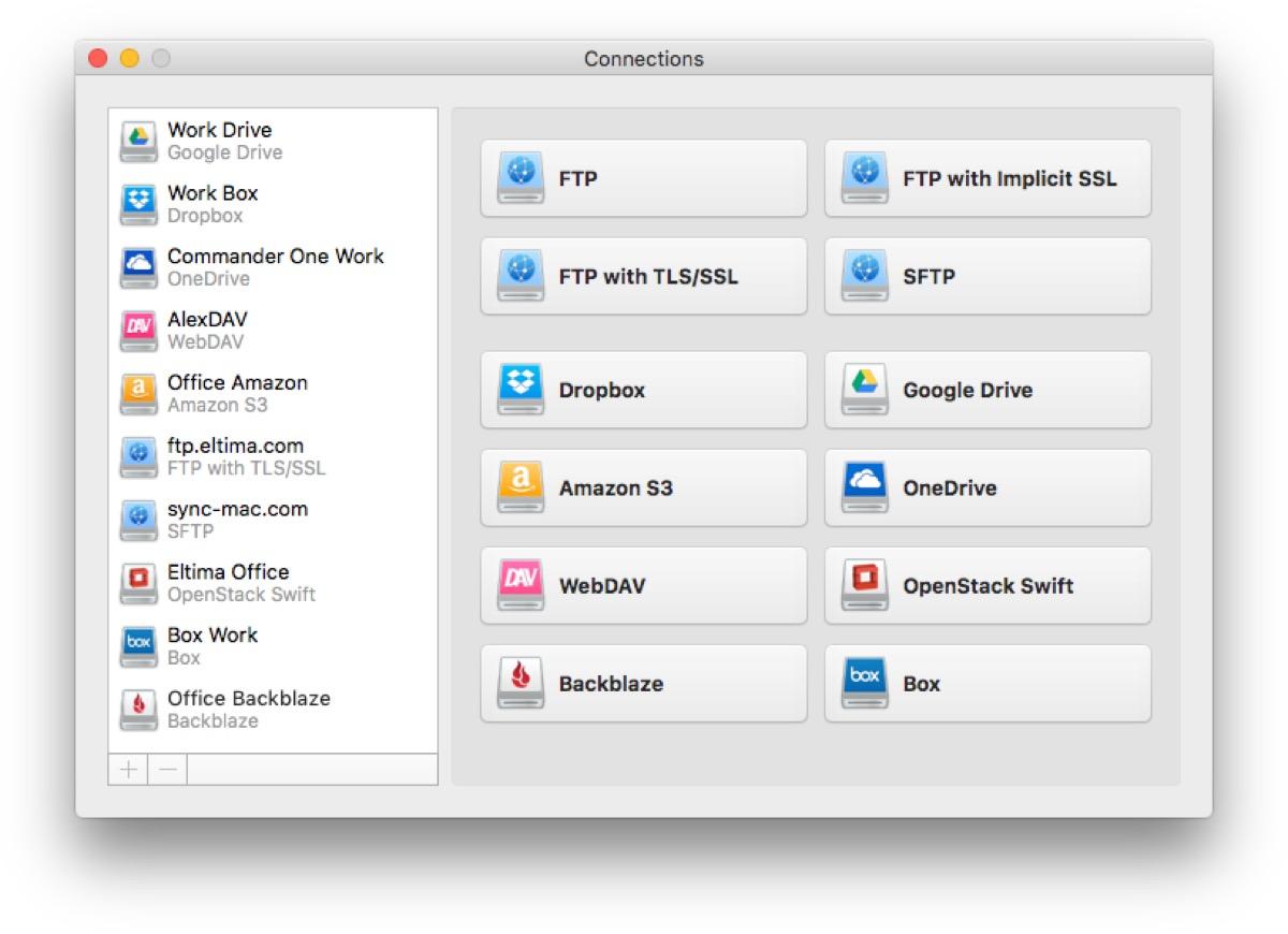 CloudMounter, 1,5$ per montare sulla scrivania Google Drive, Dropbox, OneDrive