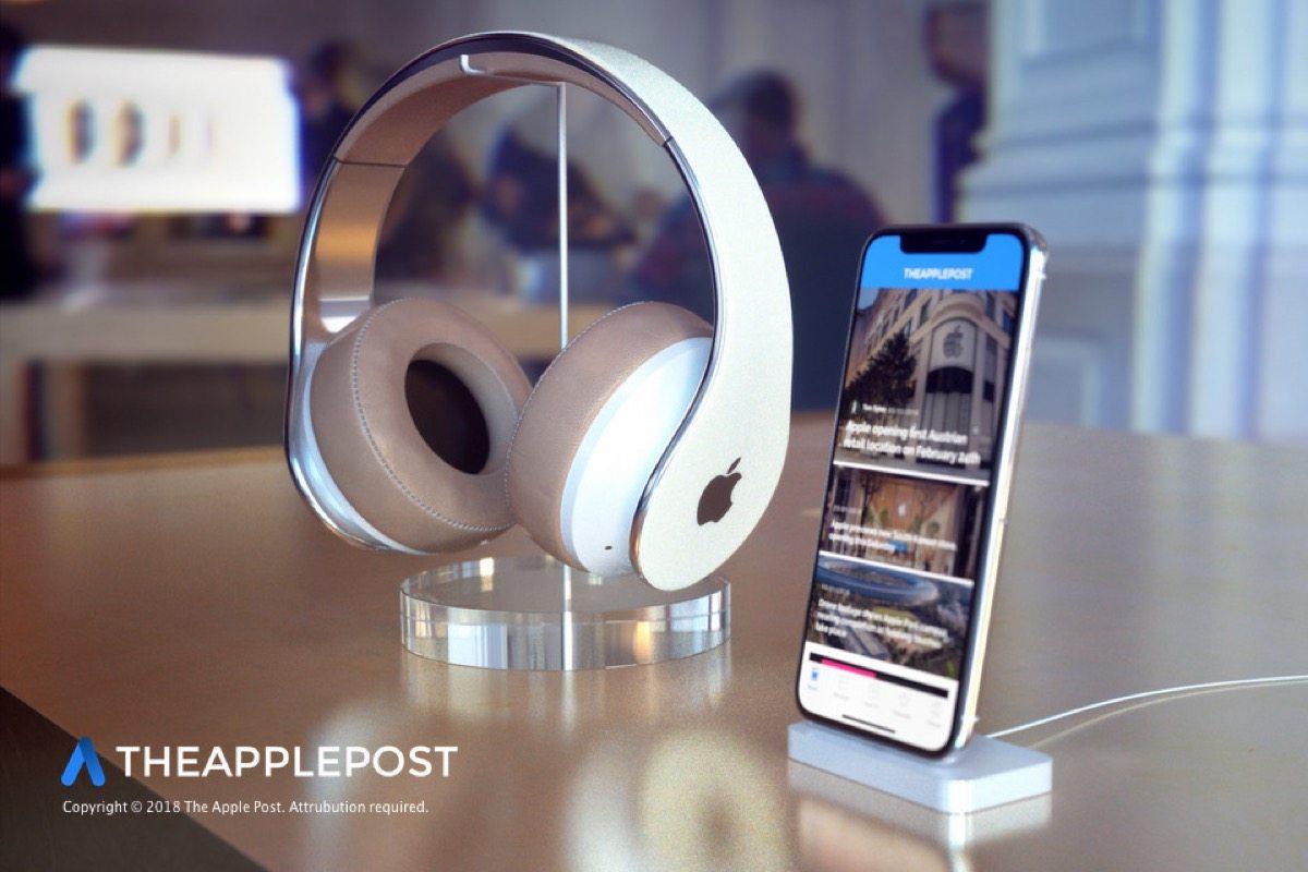cuffie apple concept