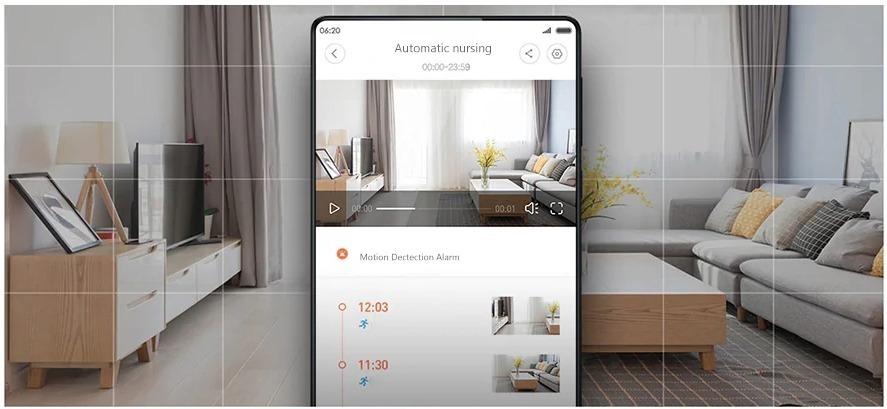 Telecamera di sorveglianza Xiaomi con visore notturno in sconto a 39 euro