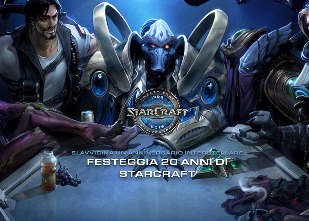 starcraft 20 anni