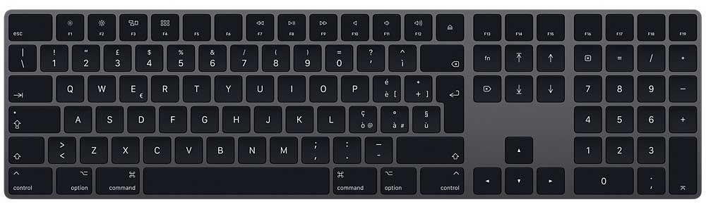 Magic Keyboard con tastierino numerico