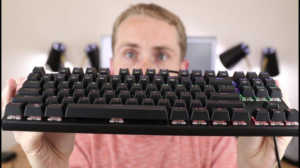 migliori tastiere per Mac - una tastiera meccanica