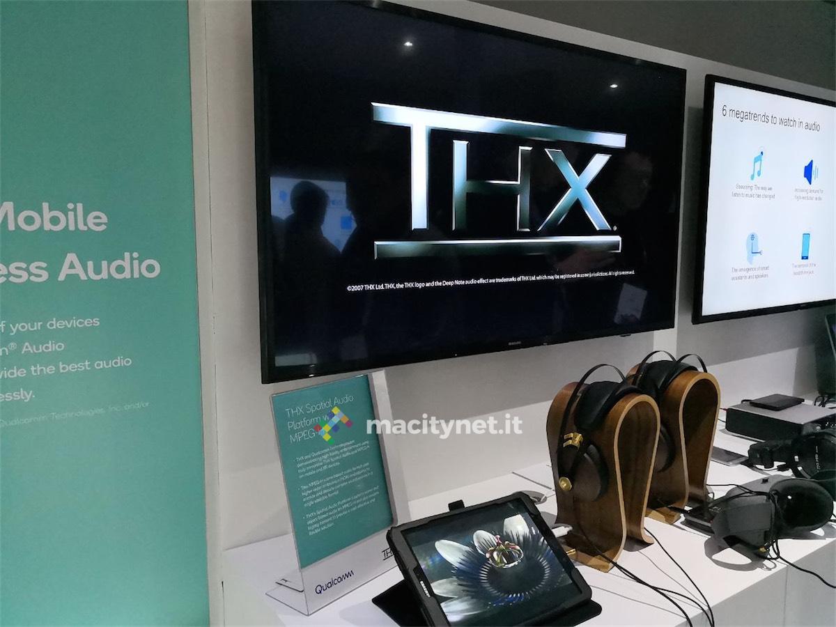 audio spaziale - foto THX MWC 2018