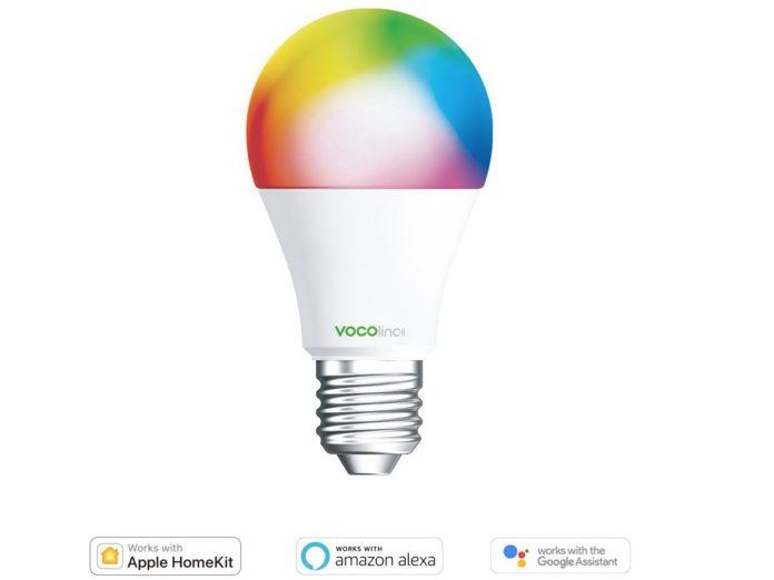Sconto su lampadina compatibile con HomeKit: a partire da 19,54 euro