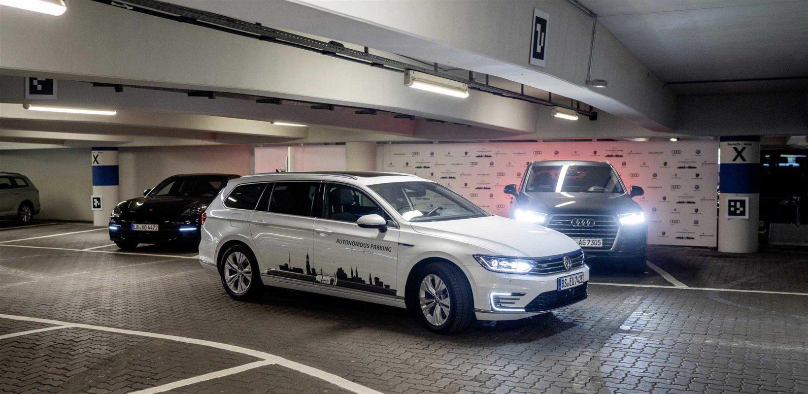 Volkswagen sta testando il parcheggio autonomo all'Aeroporto di Amburgo