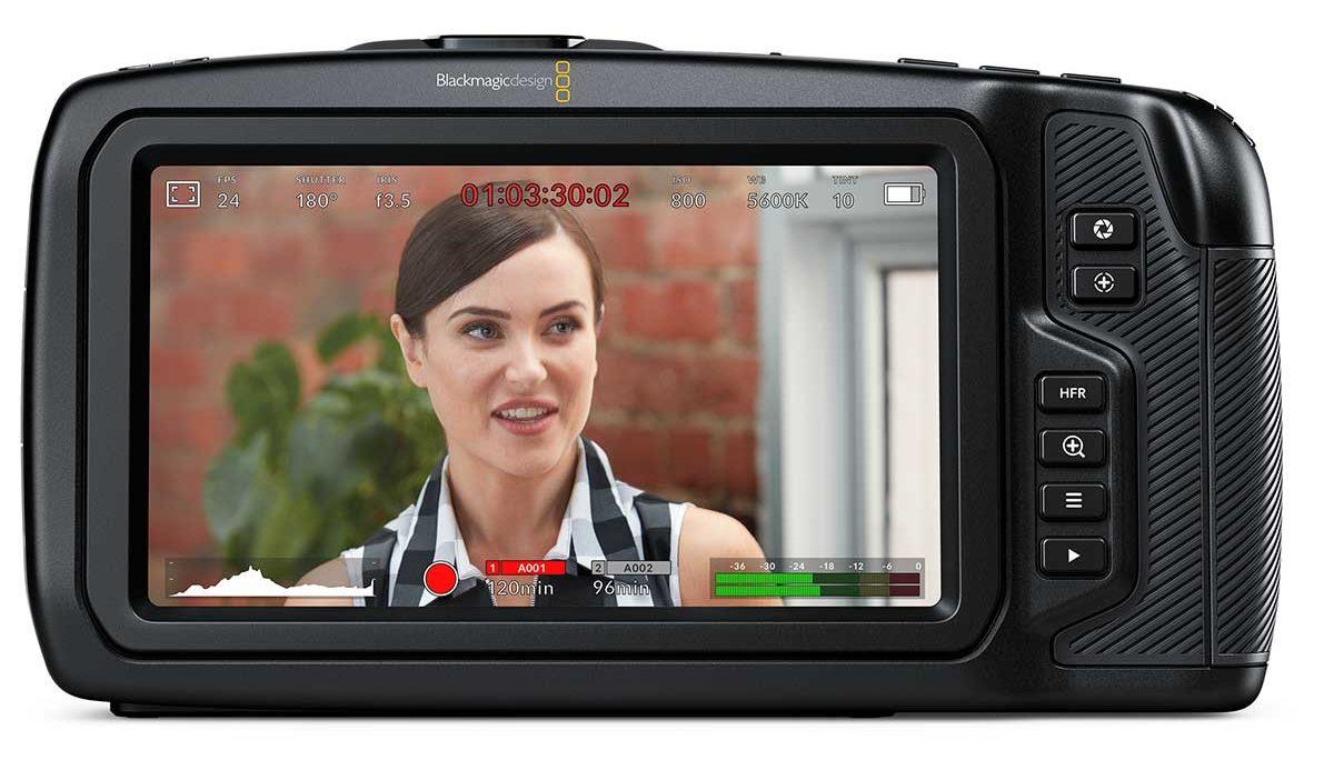 Blackmagic Pocket Cinema Camera 4K