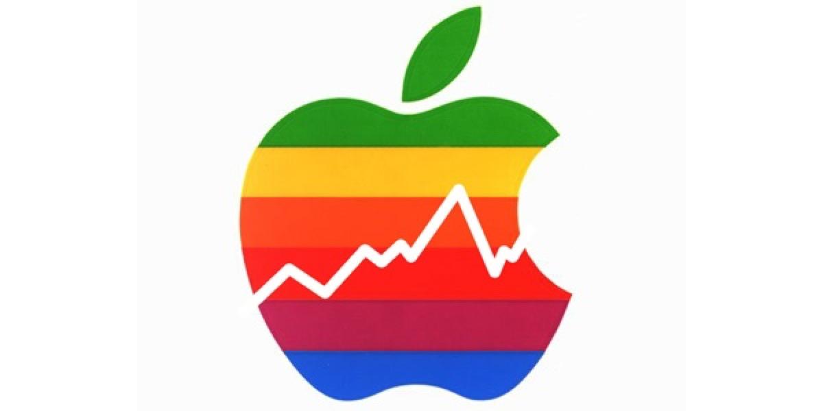 vendite iPhone in crescita, logo apple aapl