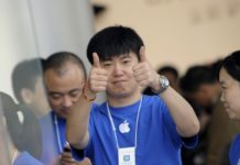 apple in cina