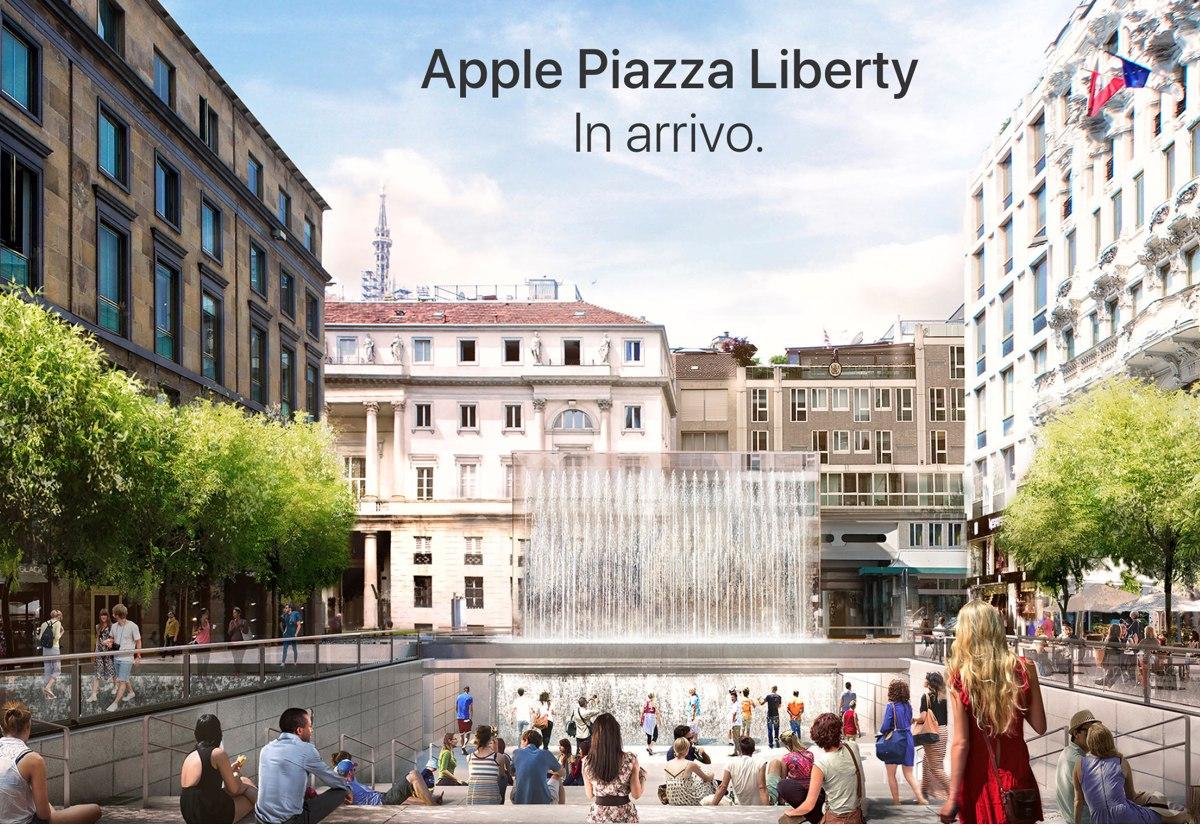 Apple store milano piazza liberty for Milano shop