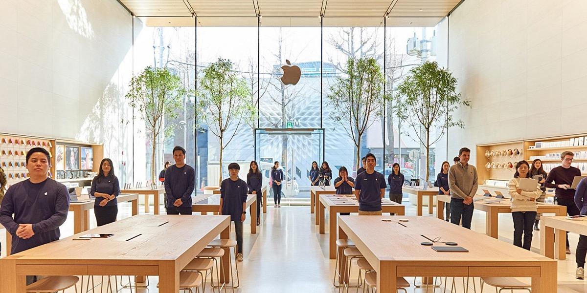 apple assume brandon yoon, apple store in corea del sud