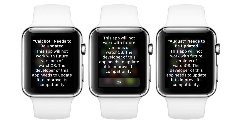 watchos 4.3.1 vecchie app avviso termine supporto