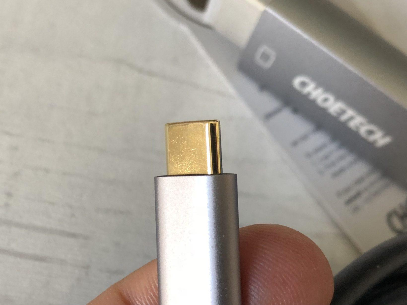 I connettori Type-C sono molto ben costruiti