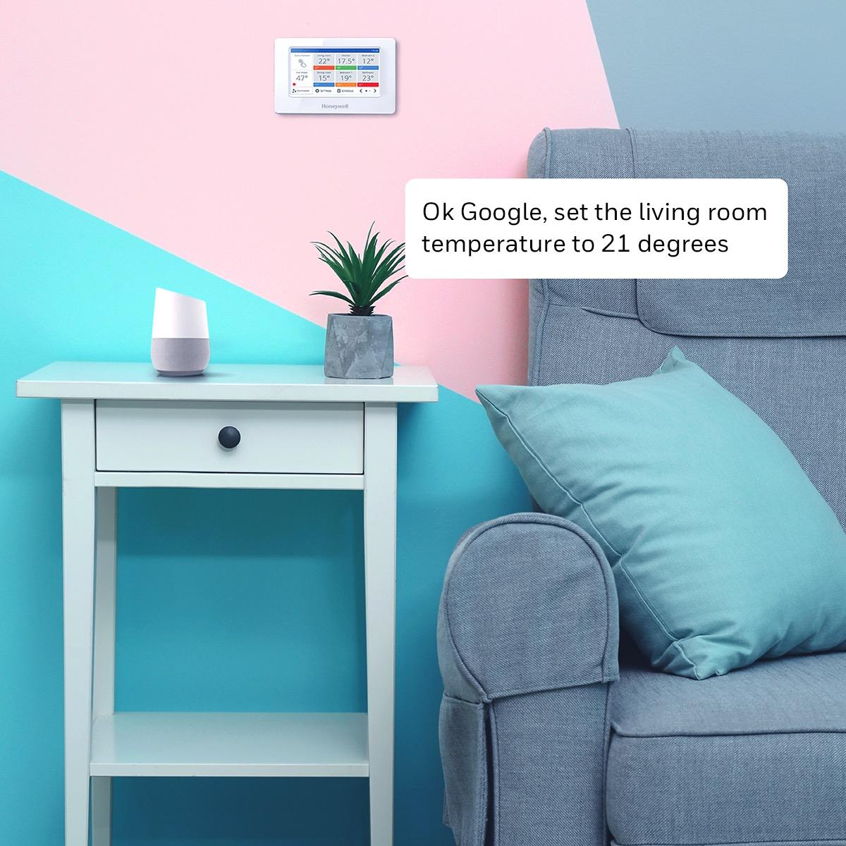 evohome e google home