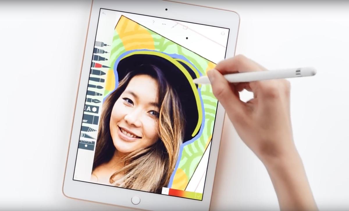 ipad e apple pencil - foto spot apple