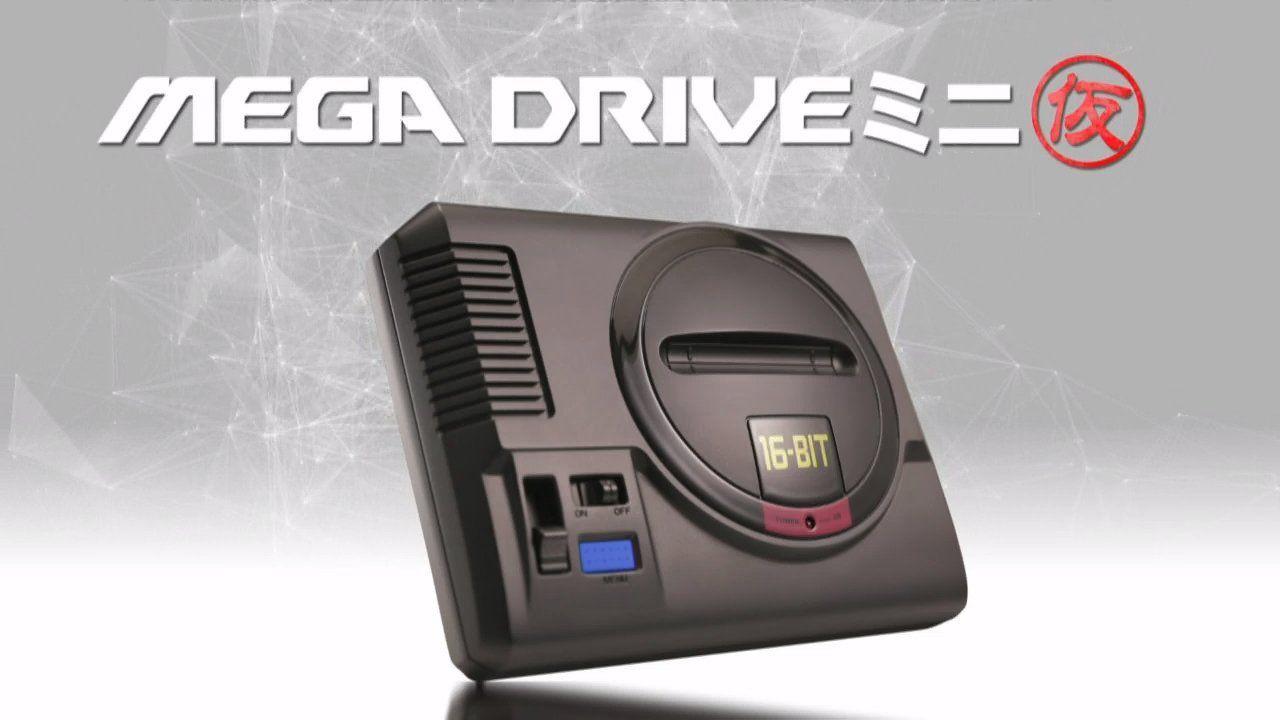 SEGA annuncia il Mega Drive Mini, in uscita quest'anno