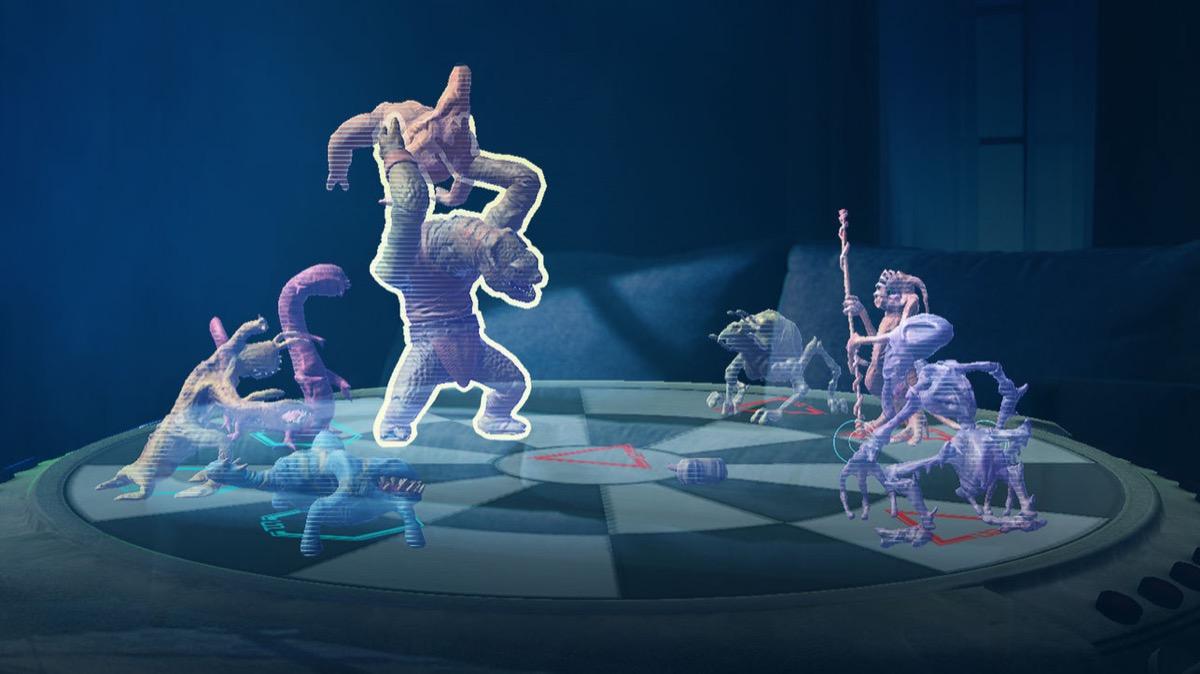 screenshot di oloscacchi su jedi challenges, giocare a oloscacchi