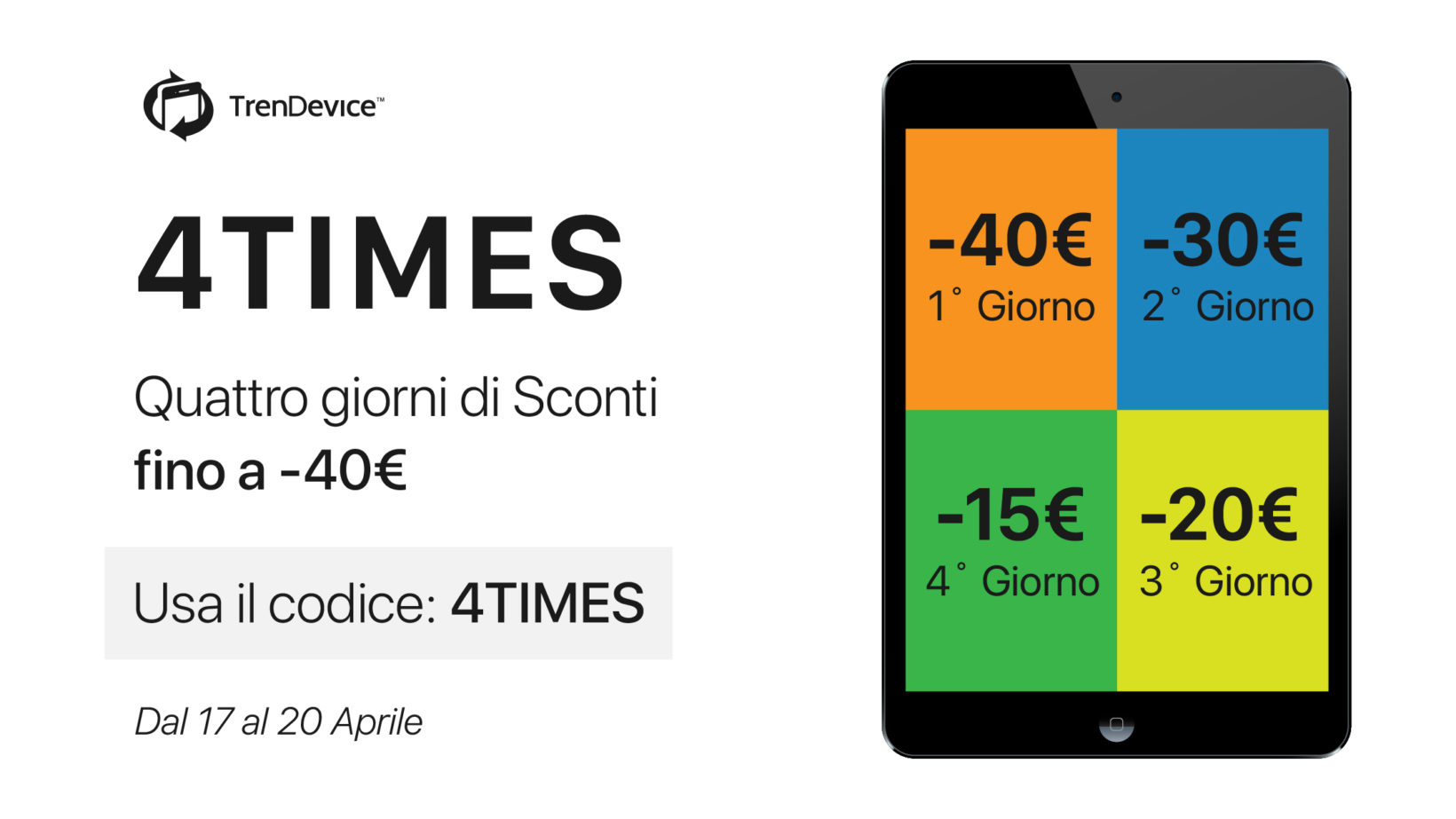 trendevice offerta 4times