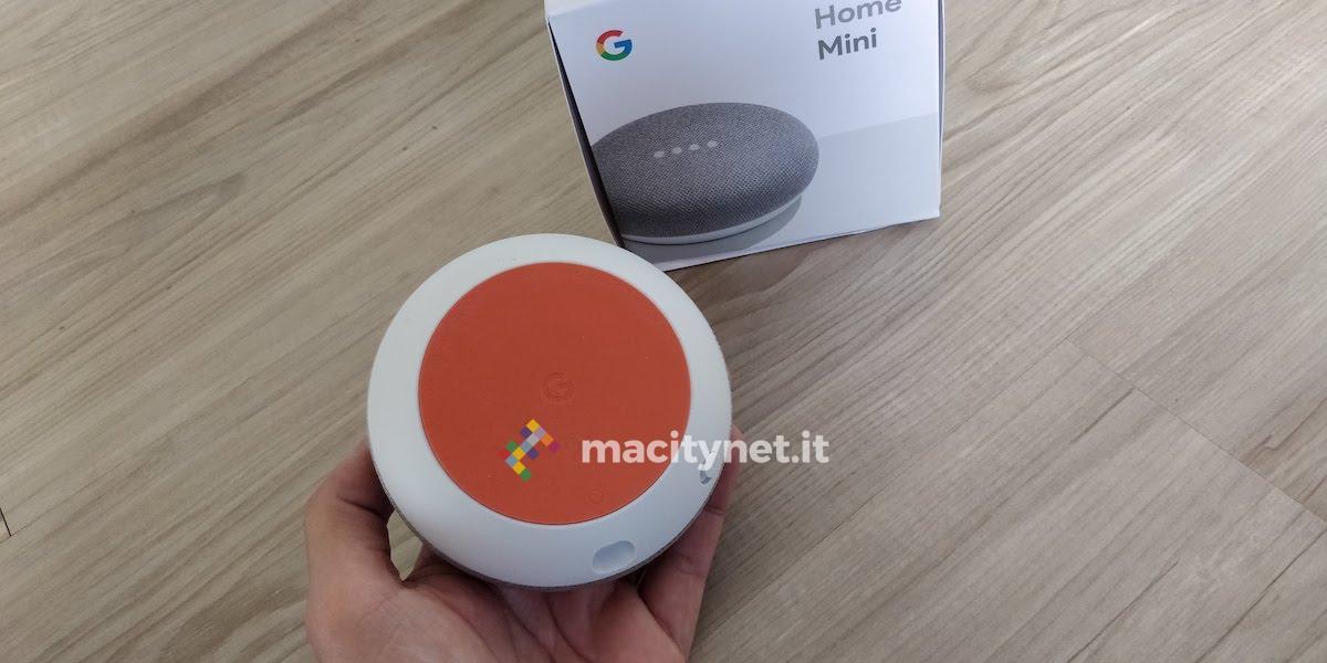 Recensione Google Home