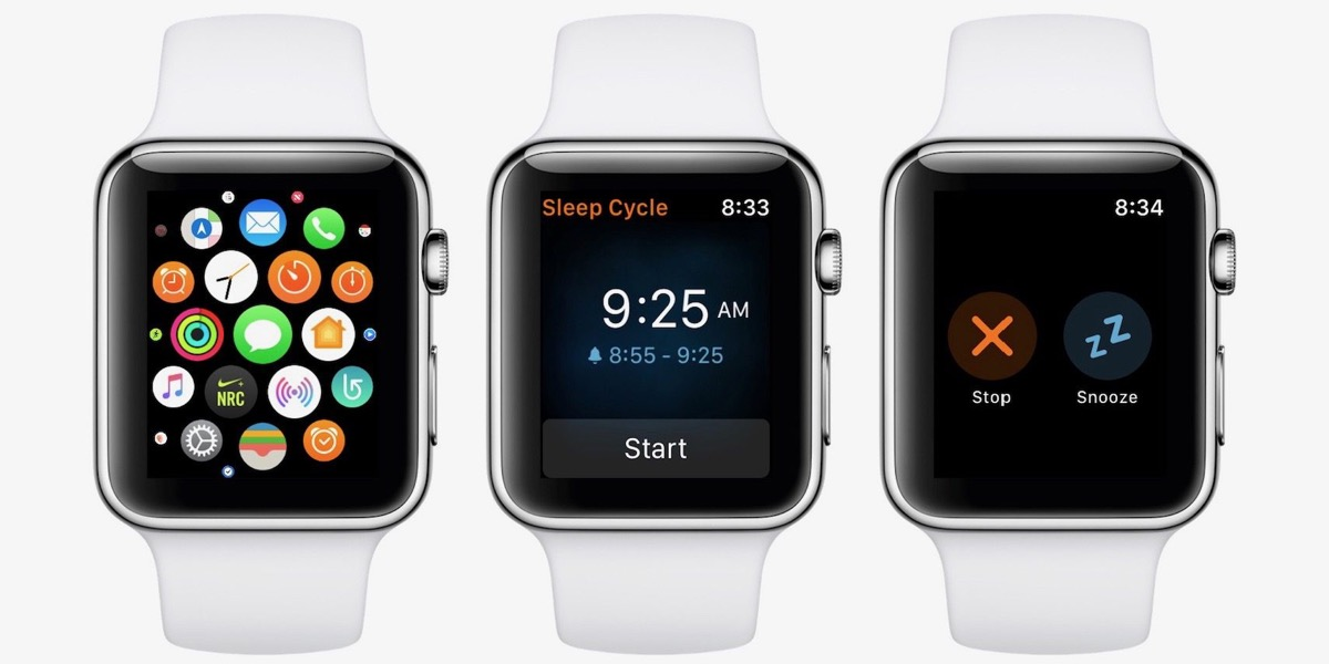 Smettere di russare con Apple Watch, screenshot dell'app Sleep Cycle