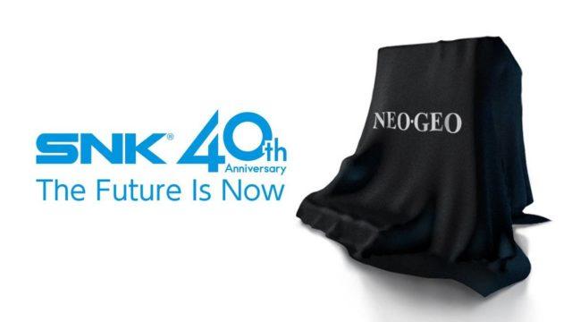 neo geo mini, foto immagine teaser SNK Neo Geo Mini
