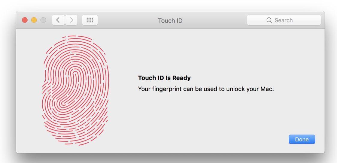 touch id e face id siti web - touch id su mac