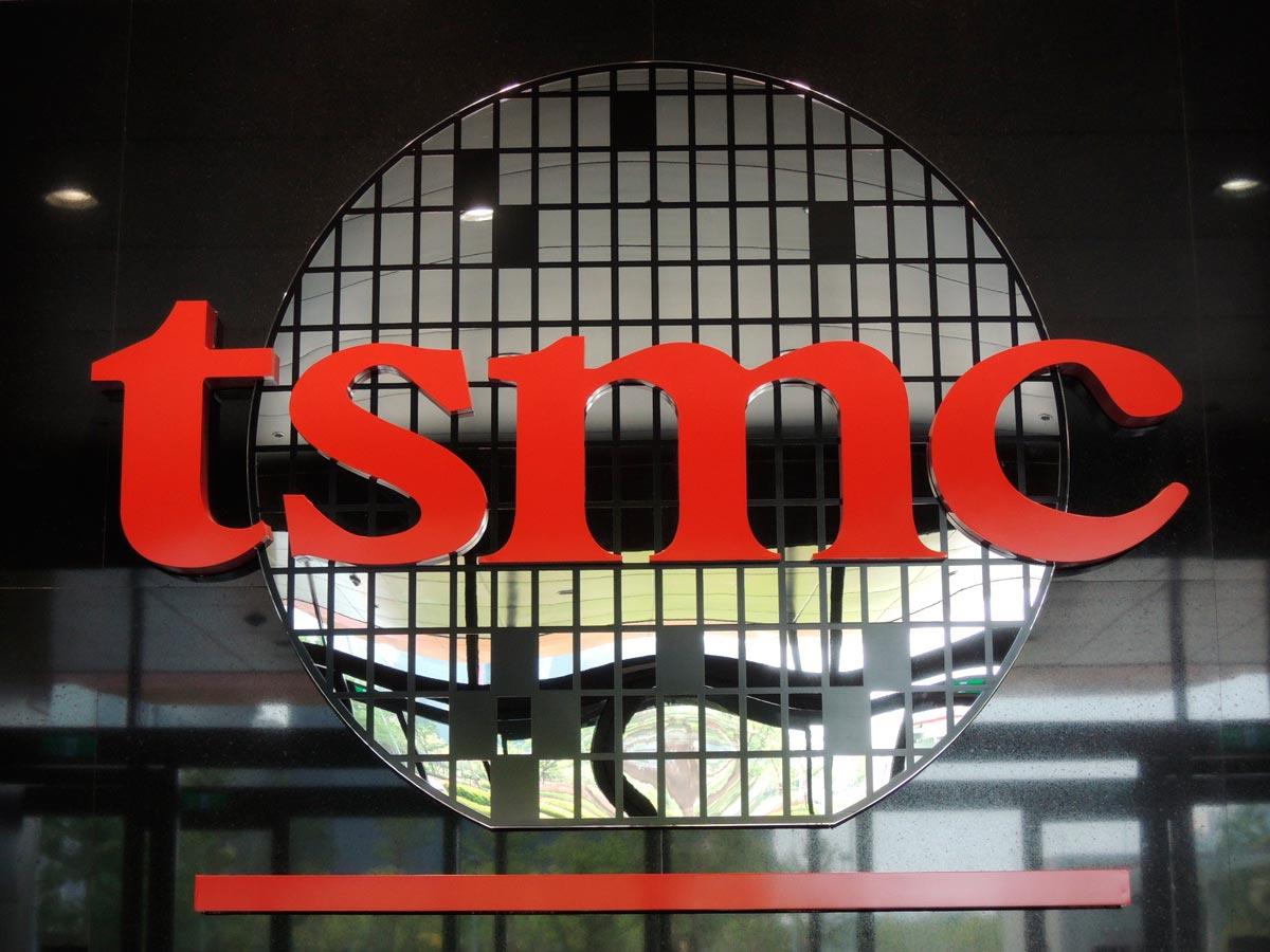 tsmc 5 nanometri foto logo TSMC