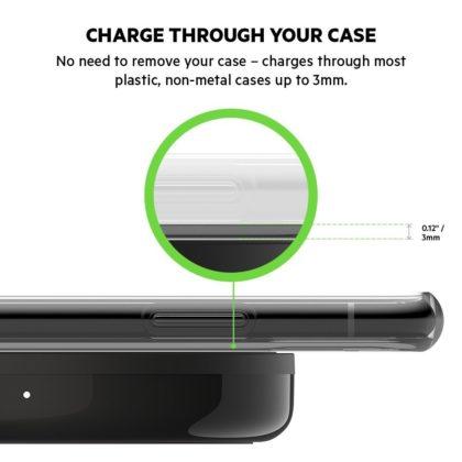 Belkin, il tappetino di ricarica wireless BOOST↑UP Bold da 10 W per dispositivi Apple, Samsung, LG e Sony