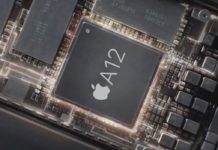 Apple A12, foto rendering processore Apple A12