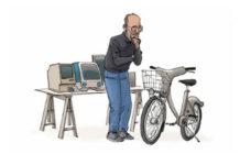 La bici di Jobs