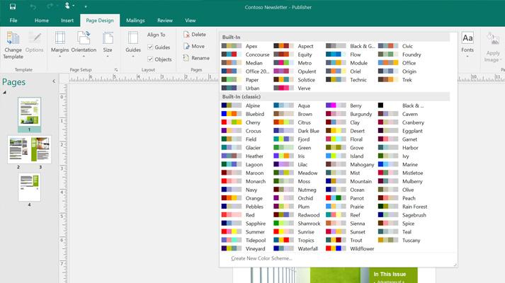 preparare file Microsoft Publisher per Mac