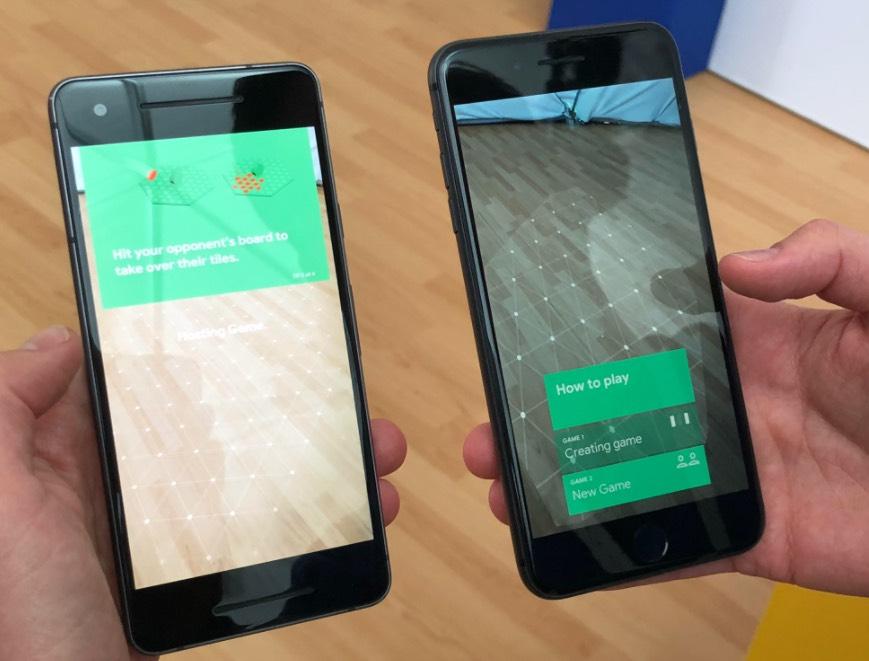 light board, foto schermate gioco Google su iPhone e Android
